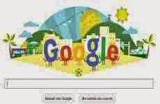 Copa del Mundo 2014: el doodle de Google de hoy por el inicio del mundial de fútbol de Brasil