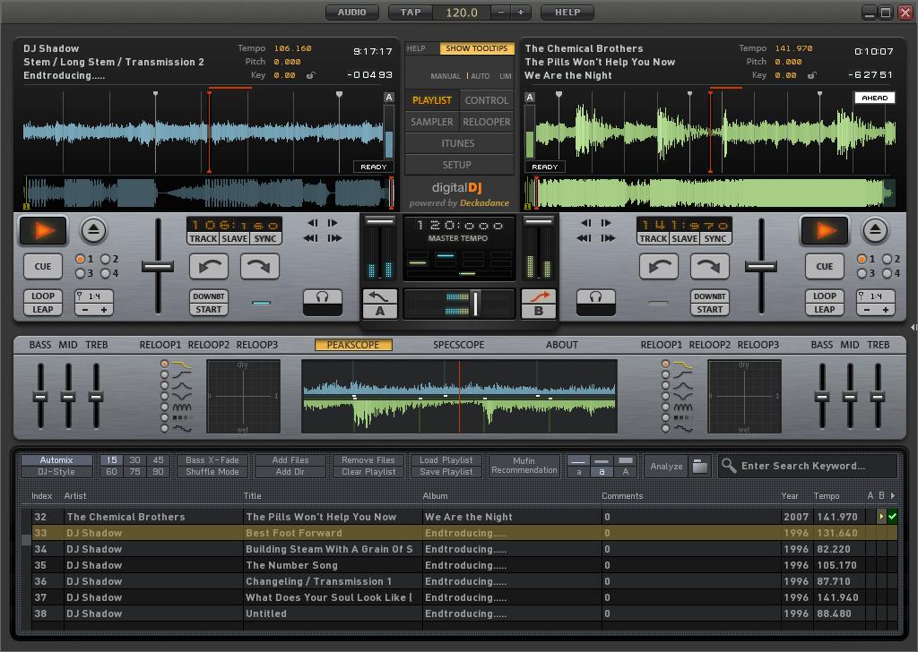 virtual - MAGIX Digital DJ v1.0 + Virtual DJ Pro V7.0.4. LargeImg