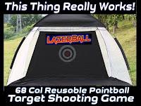 68 Caliber Paintball Target