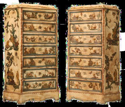 Duende artesano breve historia del decoupage for Decoupage con servilletas en muebles