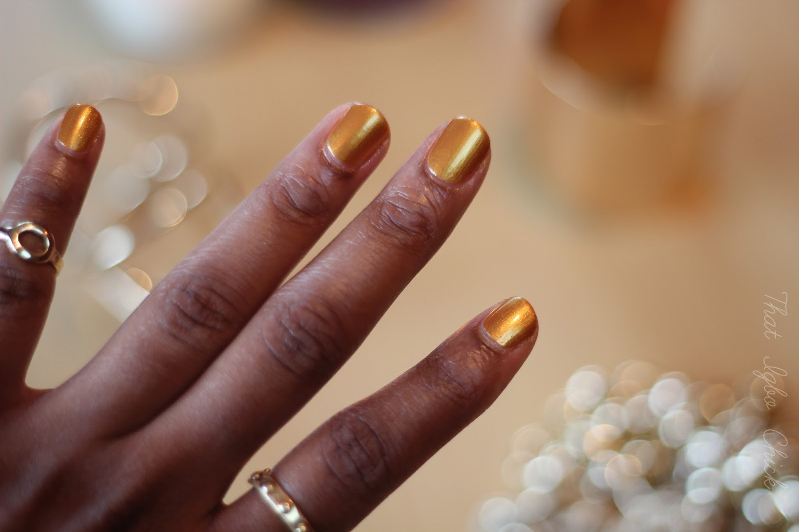 Kleancolor Nail Laquer - Gold Bright | Dimma Umeh | Nigerian beauty ...