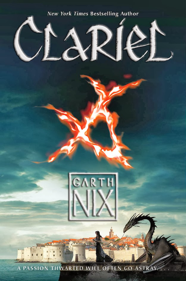 clariel by garth nix book cover