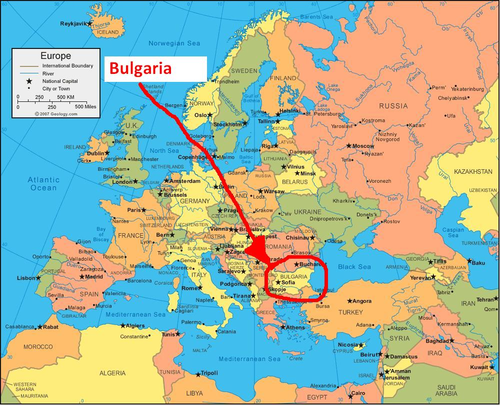 Bulgaria Where is Bulgaria