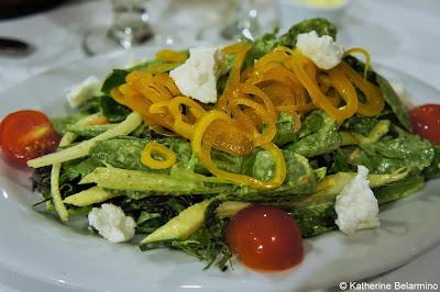Baby Greens Salad Vintner's Bar & Grill Radisson Santa Maria