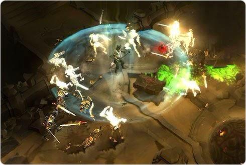 AOE Spells in MMORPGs
