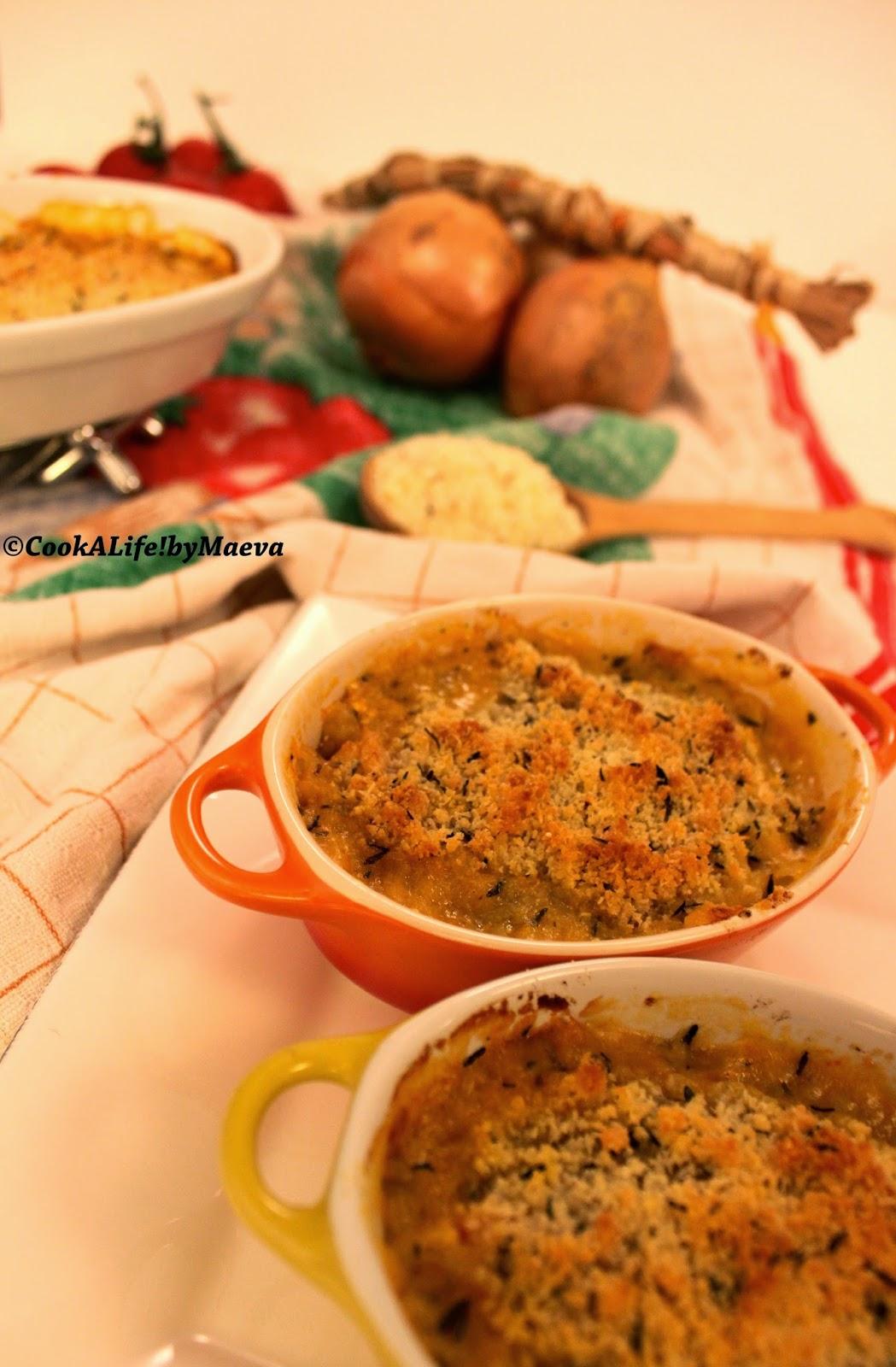 cook a life by maeva crumble au parmesan tomates cocktail ch vre frais et oignons entr e. Black Bedroom Furniture Sets. Home Design Ideas