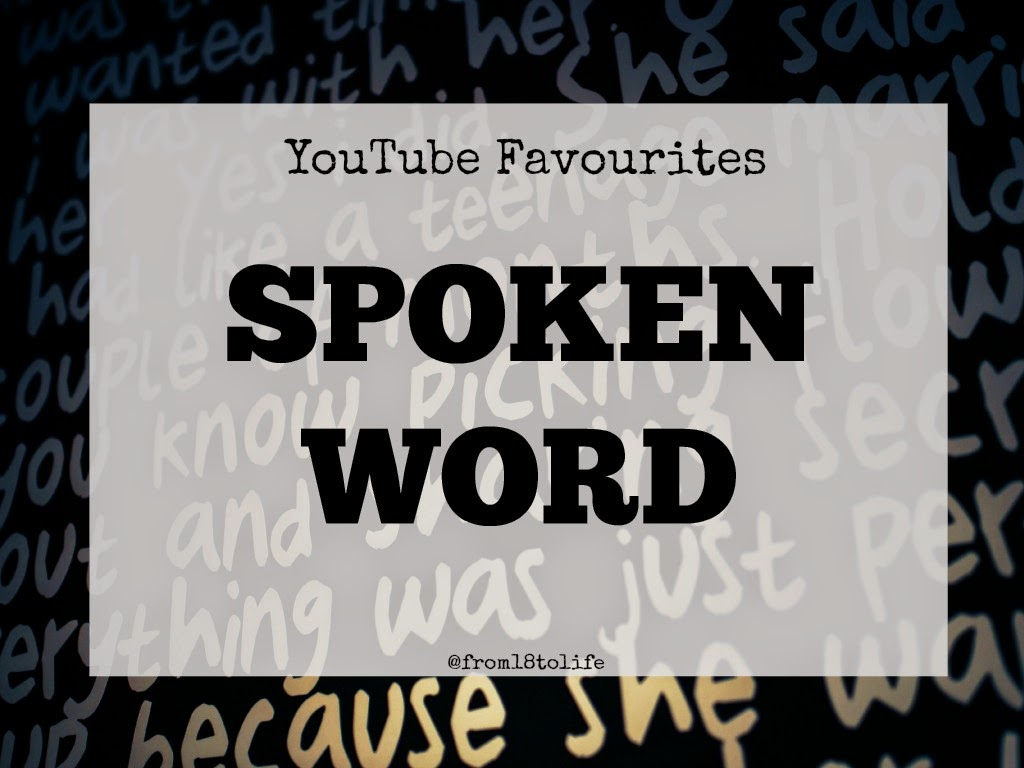 spoken word artists youtube