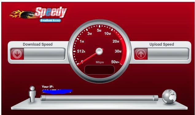 Cara melihat kecepatan akses internet komputer kita