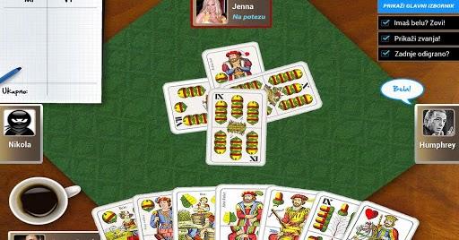 bela kartaska igra