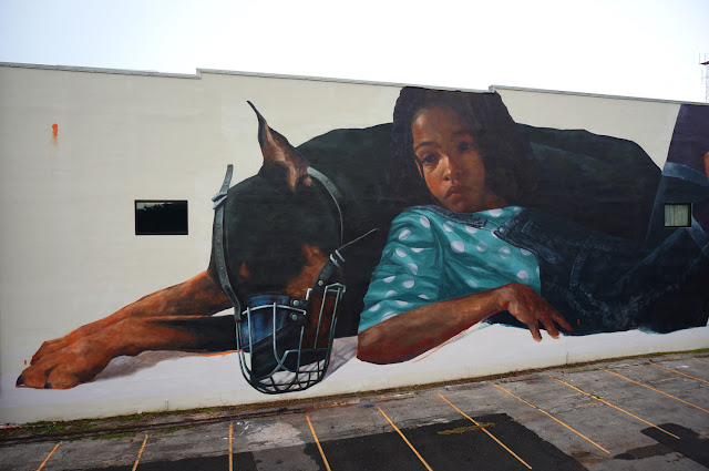 Evoca1 recently spent some time in the city of Saint Petersburg, Florida for the Shine On Pete Street Art Festival.