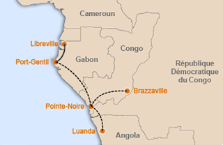 Afric Aviation's proposed network
