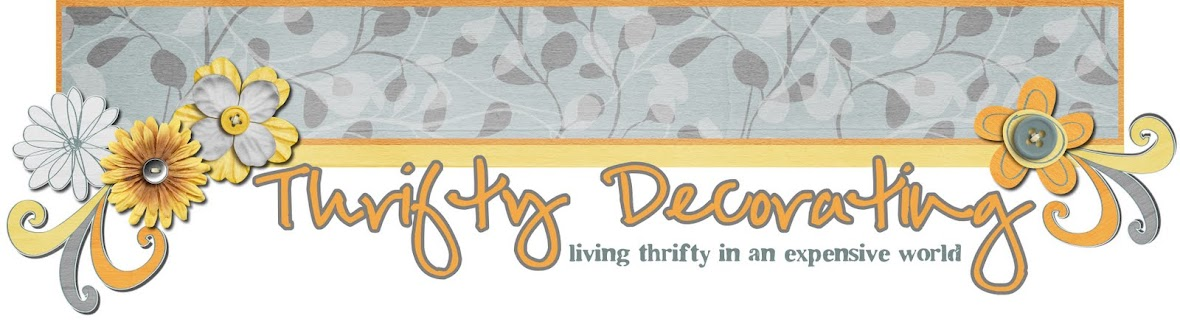 Thrifty Decorating