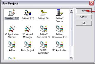 Cara menjalankan Visual Basic 6.0