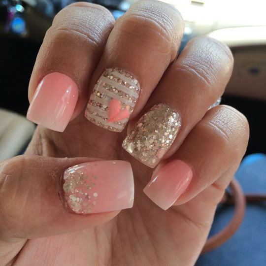 Wedding ideas blog lisawola top 10 perfect and elegant for Nageldesign ombre