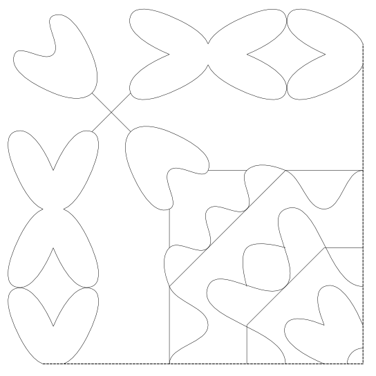 free hand embroidery/quilting pattern