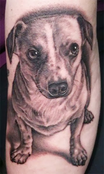 The Best Dog Tattoos (Gallery 1)