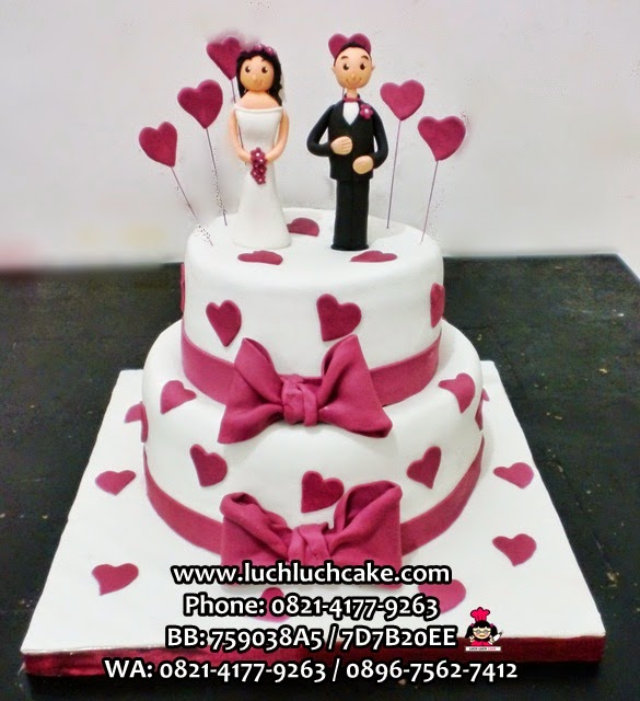 Kue Tart Wedding Daerah Surabaya - Sidoarjo