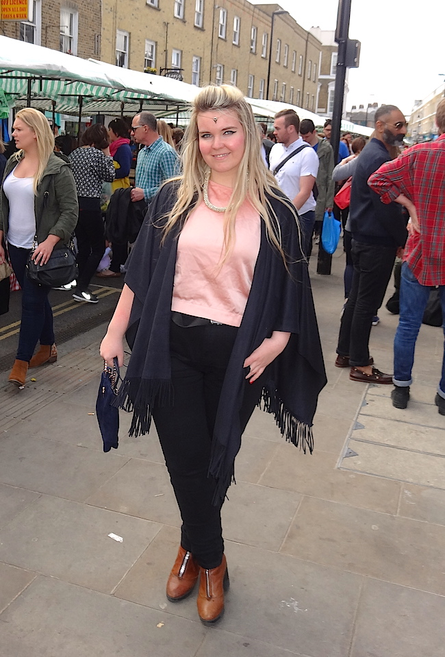 River Island fringed Cape