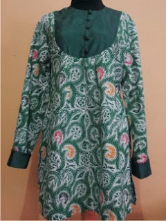 Foto Baju Batik Muslim Madura