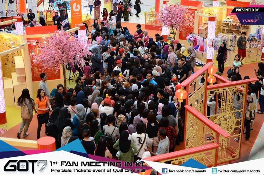 got7, peminat, malaysia, fan meeting, poster