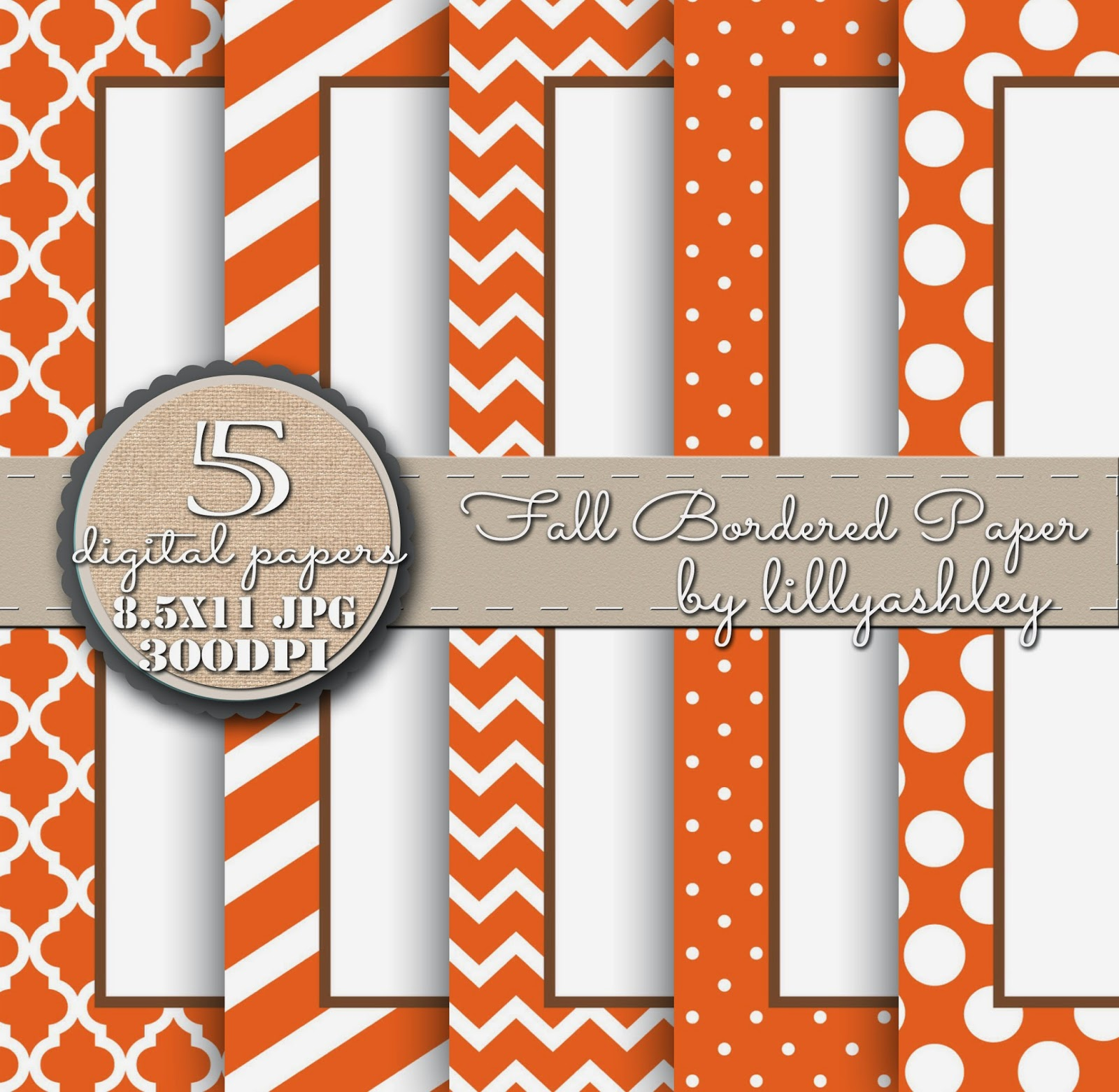 Stripes Quatrefoil Chevron Polka Dot