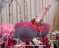 Bubbly Pink Bra Tablescape!!