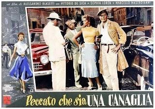 Cartel de La ladrona, su padre y el taxista