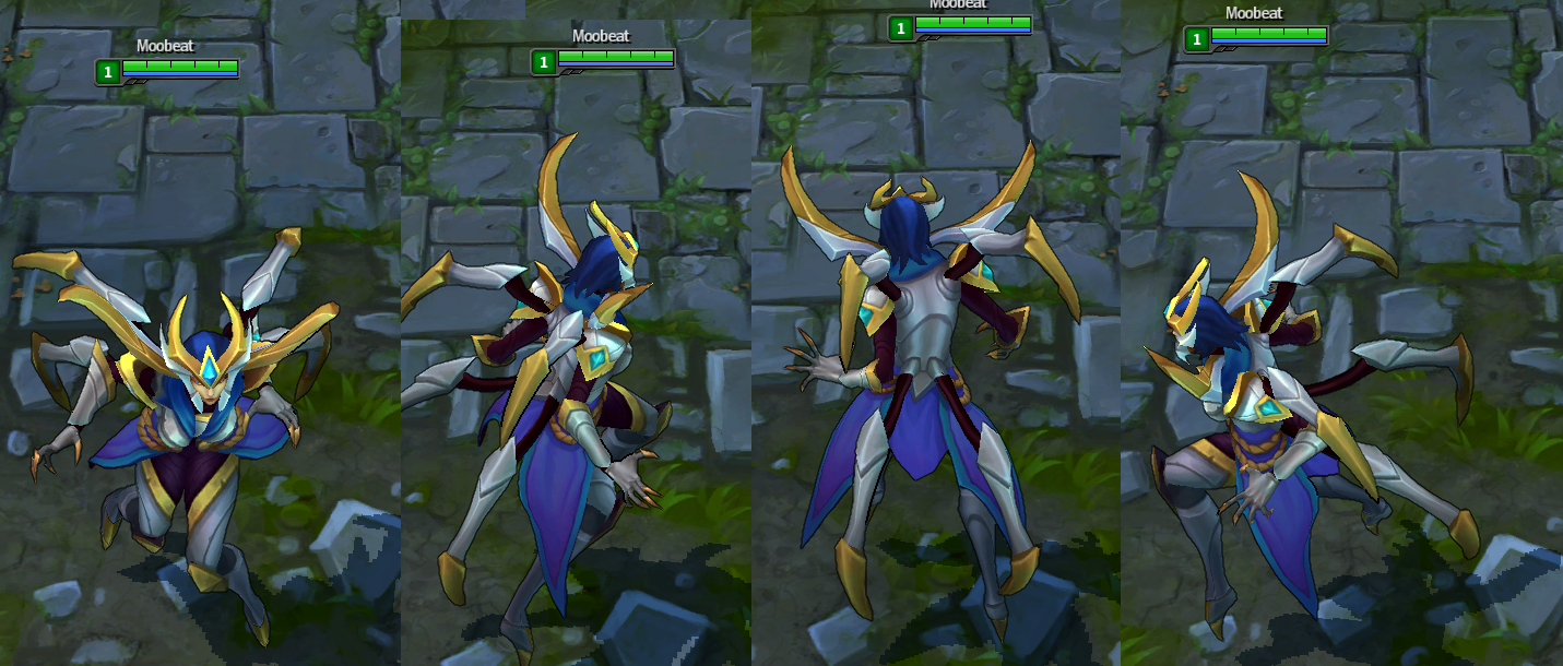 3D Animated Models for Victorious Morgana for League of Legends Users can select a champion a skin and animation for their favorite champions to show in 3D