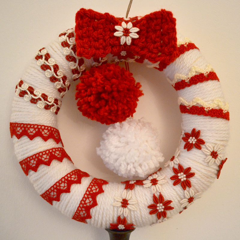 Consigli per la casa e l 39 arredamento decorazioni - Decorazioni natalizie country fai da te ...