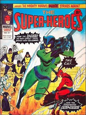 Marvel UK, the Super-Heroes #31, the Cat