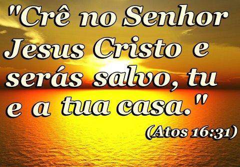 Cre no Senhor