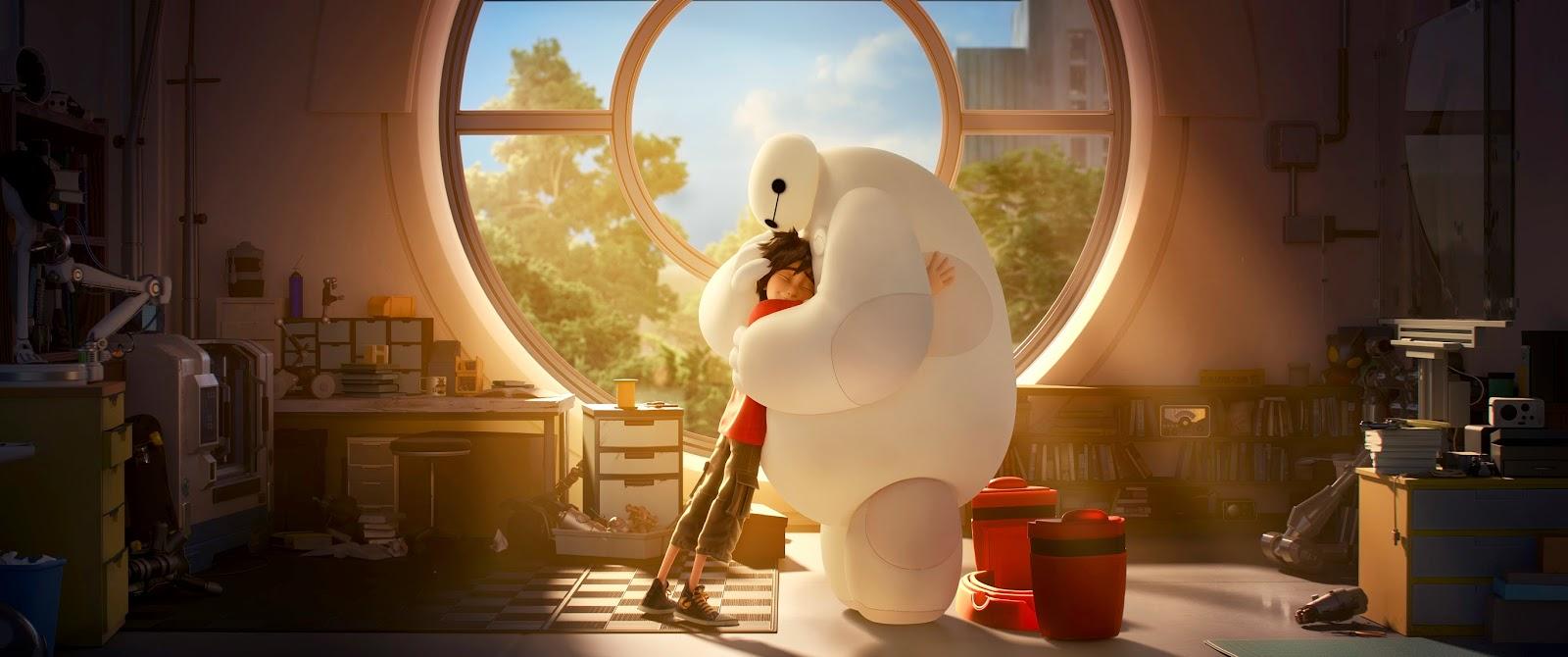 Big Hero six película animación Disney