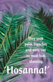 Image result for hosanna blessed is he who comes