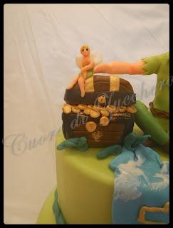 peter pan cake per luigi