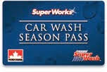 SuperWorks Car Wash Season Pass