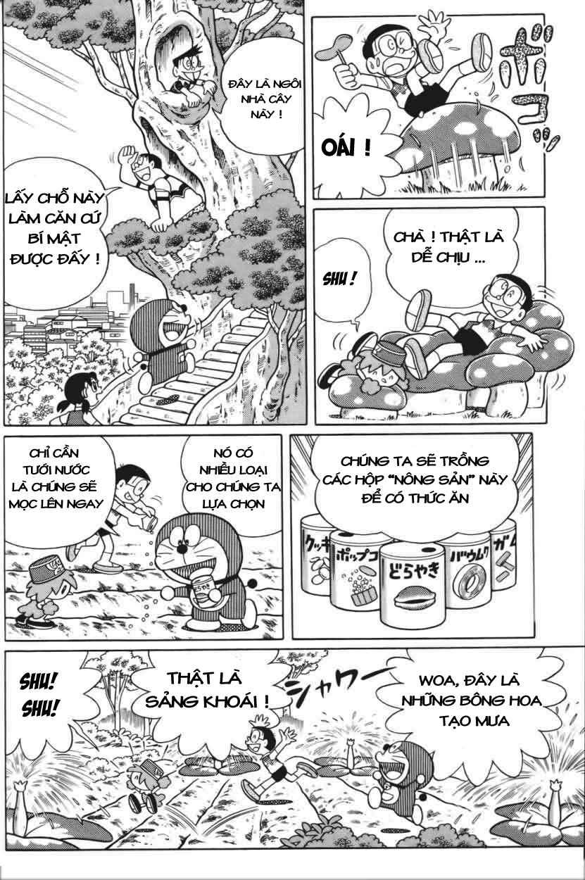 Truyện tranh Doraemon Dài Tập 25 - Nobita và truyền thuyết thần rừng trang 33
