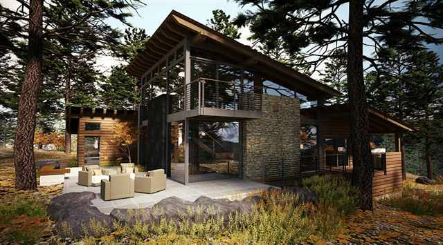 If It S Hip It S Here Archives Marvelous Modern Mountain Home In Truckee California Is A