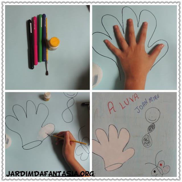 Aula de Artes Releitura de Obra Joan Miró Educação Infantil