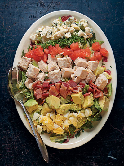 Cobb Salad with French Dressing