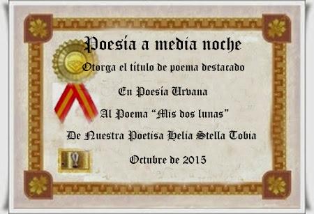 DESTACADO MES DE OCTUBRE POESIA A MEDIA NOCHE
