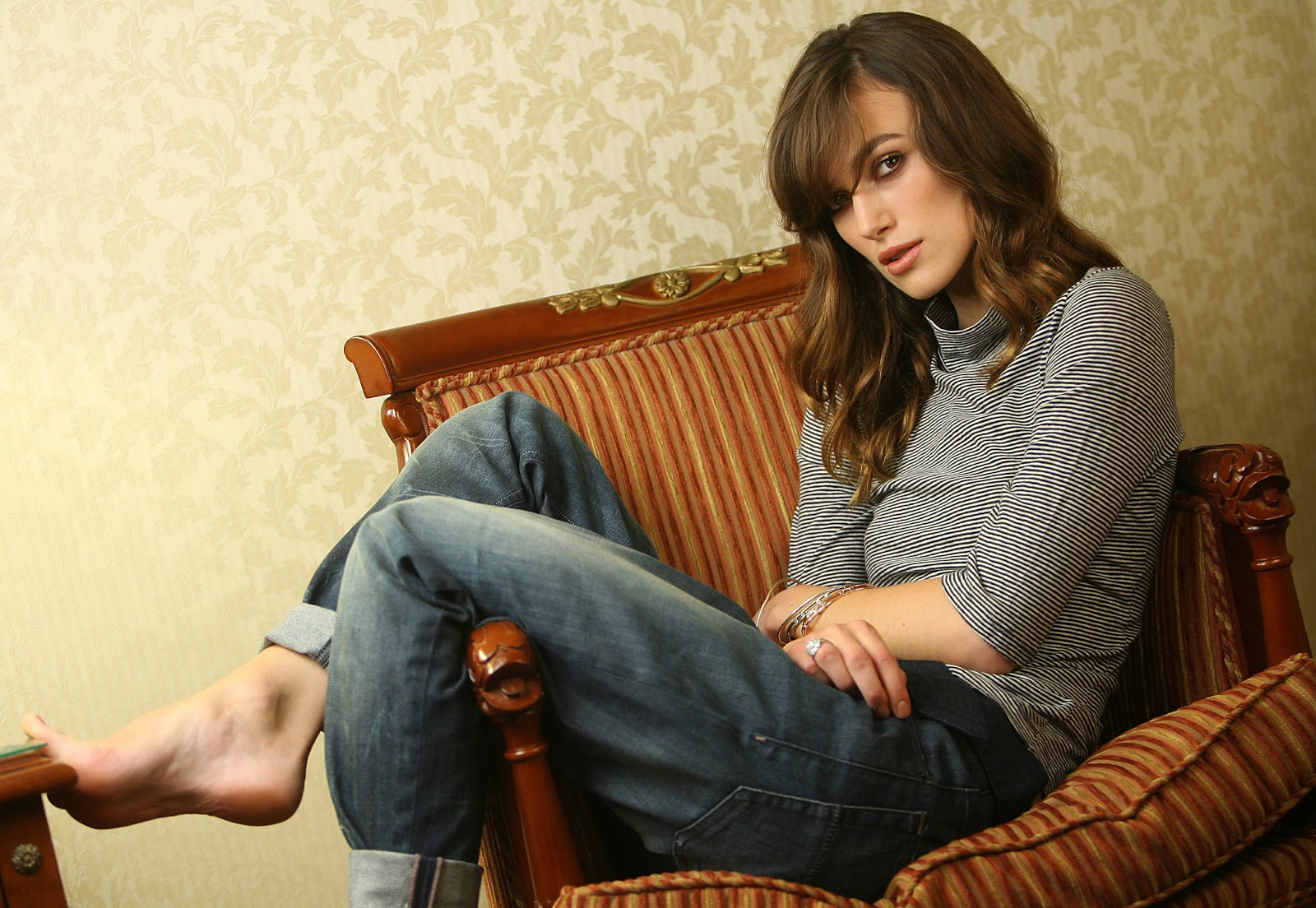Consider, that Keira knightley toes