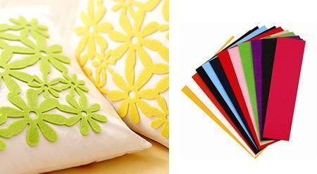 Cushions felt pieses