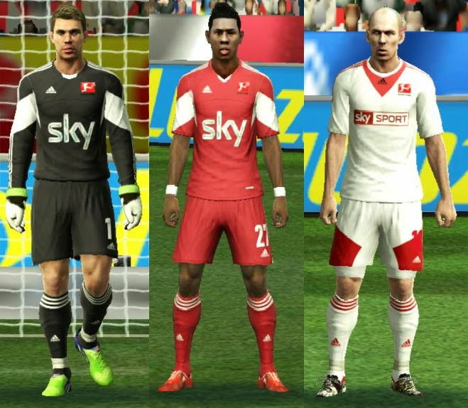 PES 2013 All Stars Kitpack by aLbiii