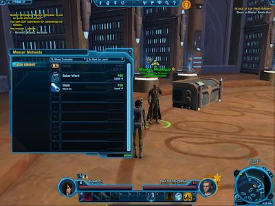 SWTOR - Jedi Knight Trainer