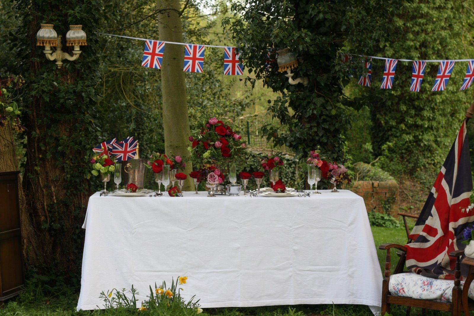 Royal Wedding Garden Party Miss Pickering