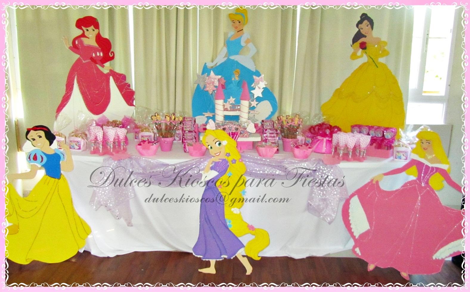 Decoracion Kiosco Golosinas ~ Dulces Kioscos para Fiestas   y AHORA  el turno de PRINCESAS!!!