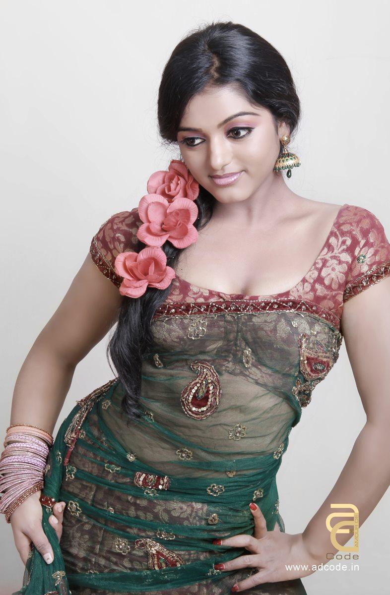 asia  comedy stars anchor meera anil photos exclusive
