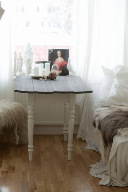 Rustikt Koksbord : lantligt koksbord  hannis hem att gora eget koksbord koksbord