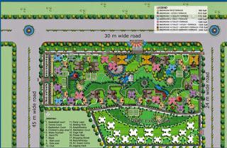 Amrapali La Residentia :: Site Plan