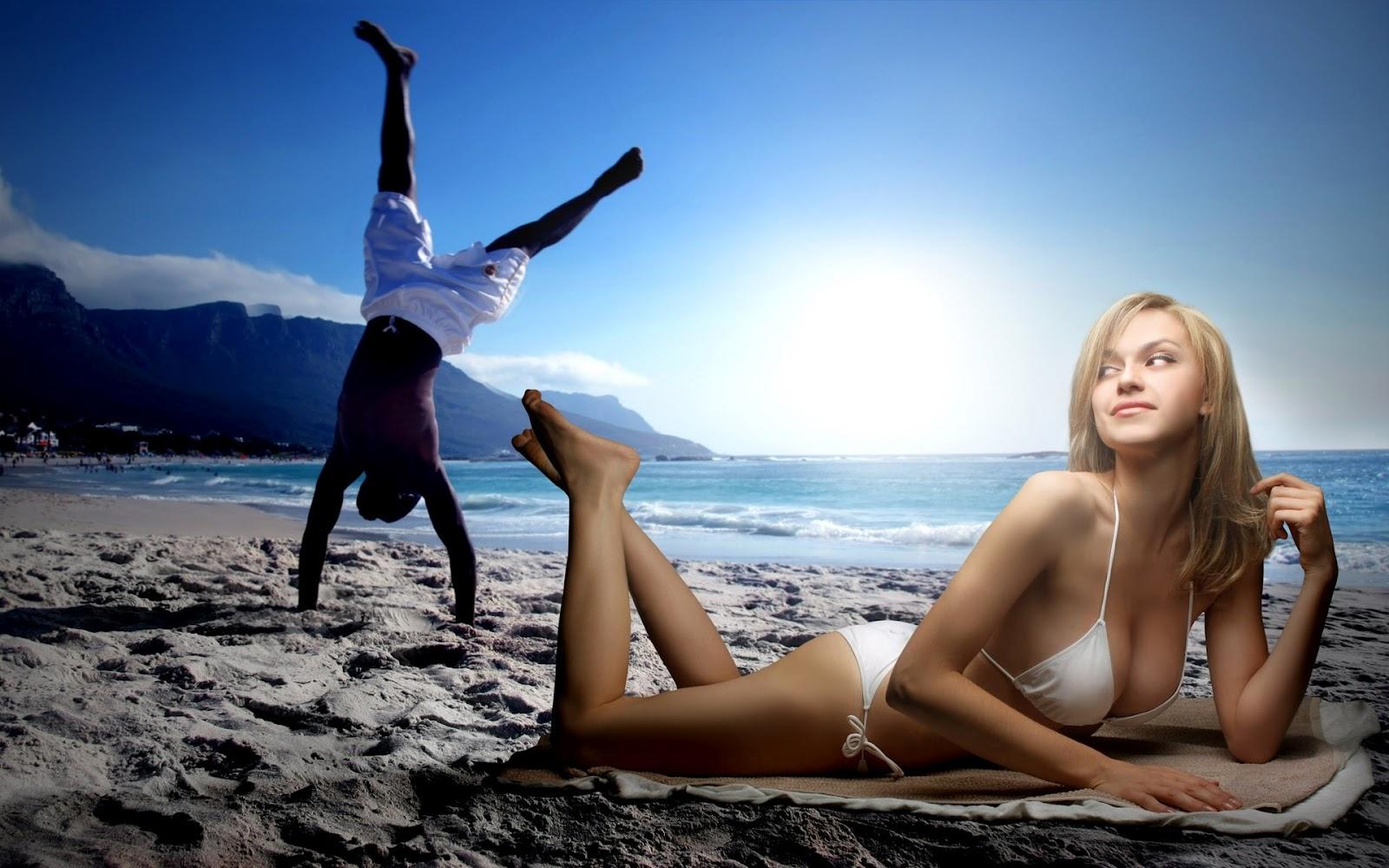 beach girls wallpapers photos - gallery- templates
